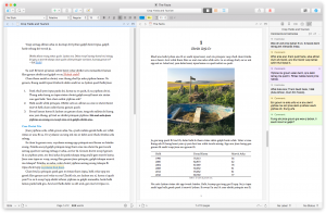 scrivener with research